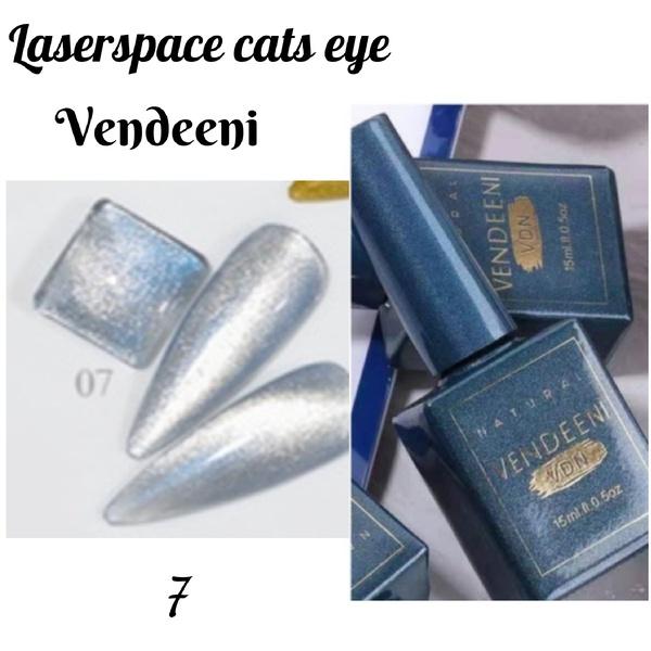 15 ml vendeeni laserspace cats eye gel nail polish no 7 picture