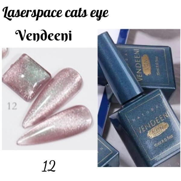 15 ml vendeeni laserspace cats eye gel nail polish no 12 picture