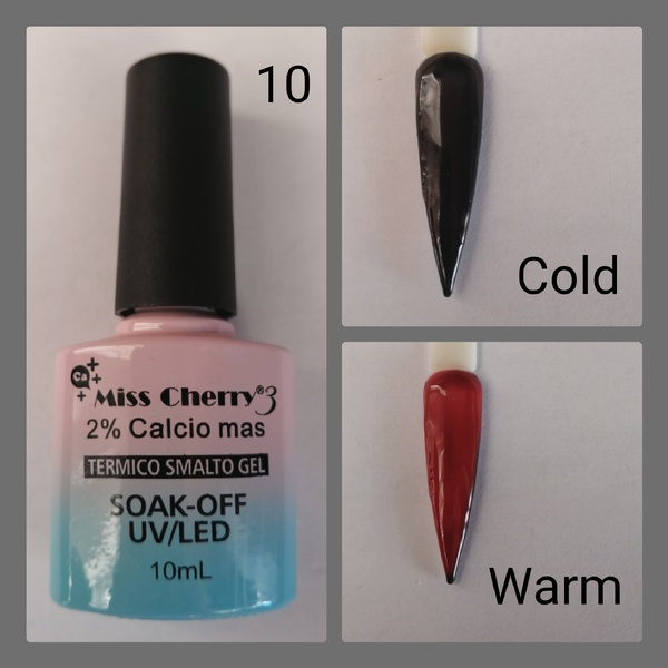 Miss cherry  10 ml color uv/led changing gel - 10 picture