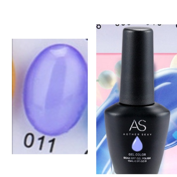 15 ml as uv led gel polish ice throughly series no 11 picture