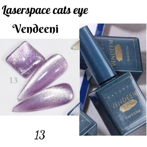 15 ml vendeeni laserspace cats eye gel nail polish no 13 picture