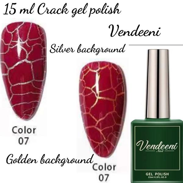 15 ml vendeeni crack gel  nail polish 07 picture