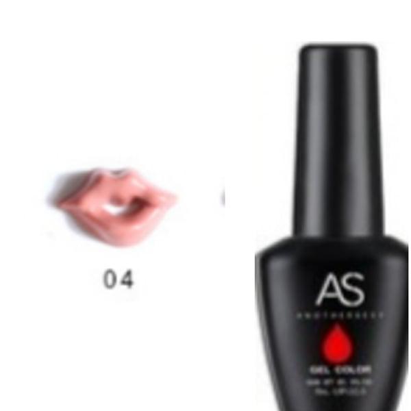 15 ml as uv led gel nail polish lip series 004 picture