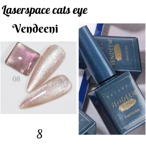 15 ml vendeeni laserspace cats eye gel nail polish no 8 picture