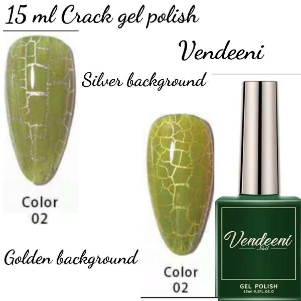 15 ml vendeeni crack gel  nail polish 02 picture