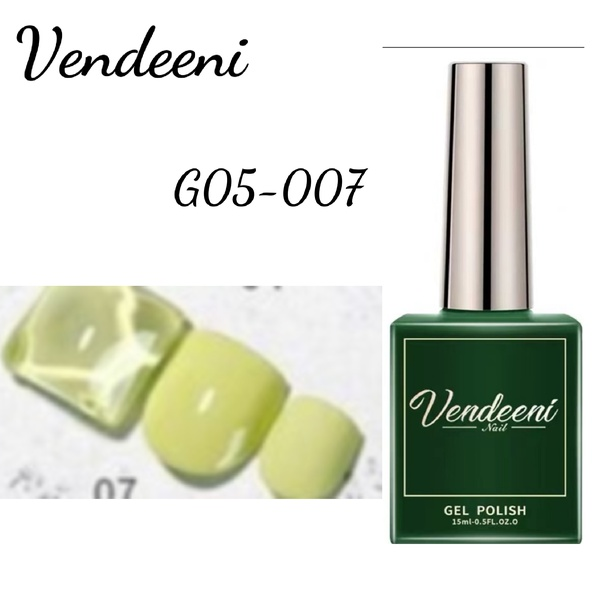 15 ml vendeeni uv led gel nail polish g-05-no 7 picture