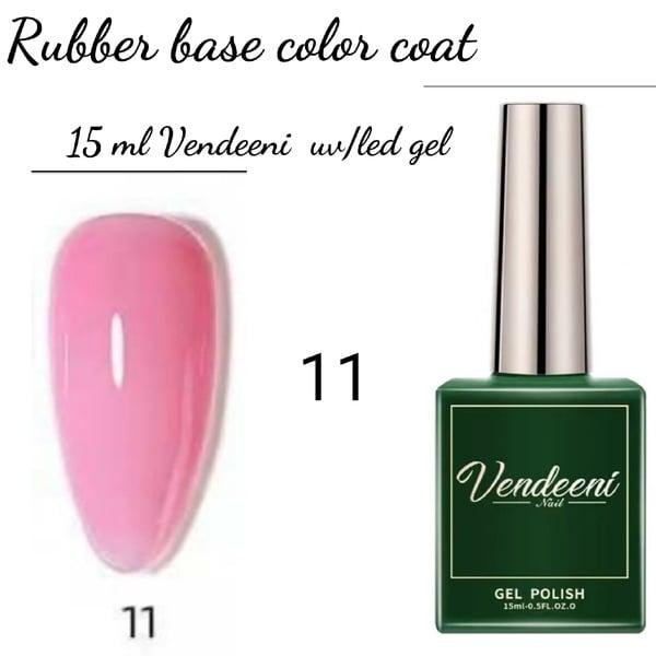 15 ml vendeeni uv led rubber base color gel no 11 picture