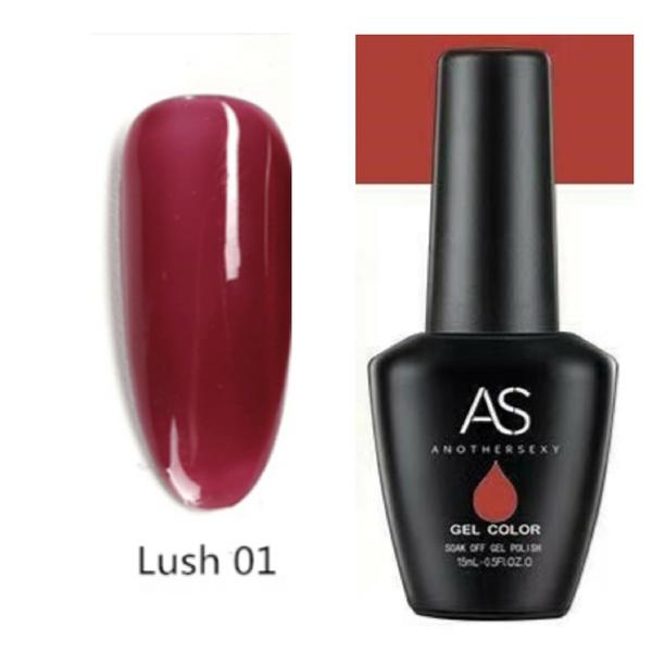 15 ml as uv led gel polish lust series no 1 picture