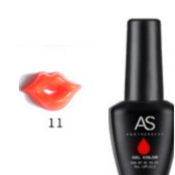 15 ml as uv led gel nail polish lip series 011 picture