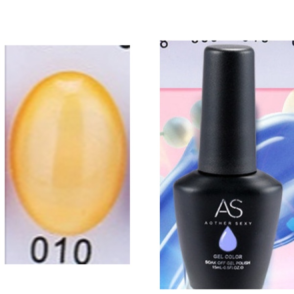 15 ml as uv led gel polish ice throughly series no 10 picture