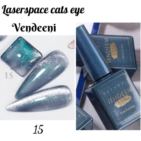 15 ml vendeeni laserspace cats eye gel nail polish no 15 picture