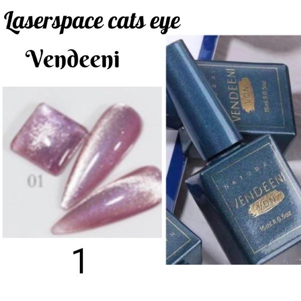 15 ml vendeeni laserspace cats eye gel nail polish no 1 picture