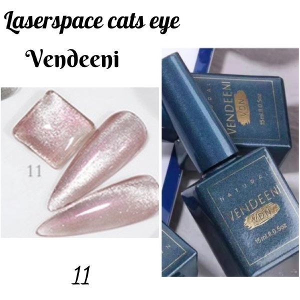 15 ml vendeeni laserspace cats eye gel nail polish no 11 picture