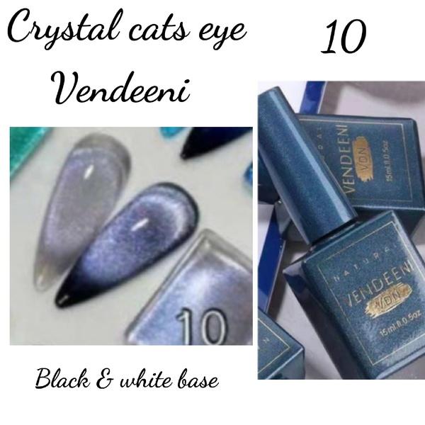 15 ml vendeeni crystal cats eye gel nail polish no 10 picture