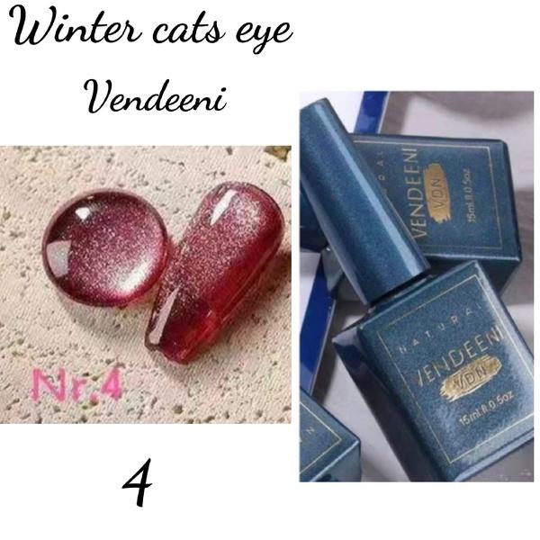 15 ml vendeeni winter cats eye gel nail polish no 4 picture