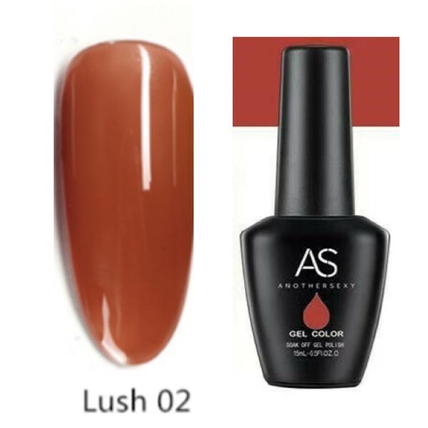 15 ml as uv led gel polish lust series no 2 picture