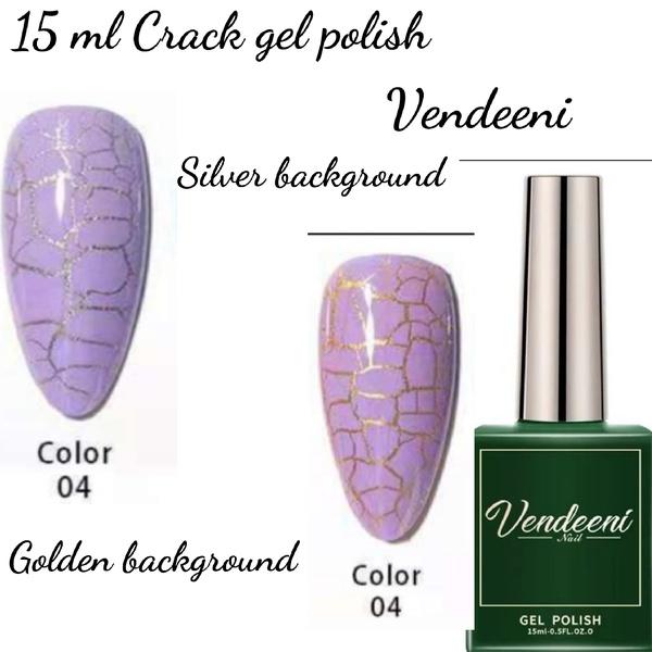 15 ml vendeeni crack gel  nail polish 04 picture