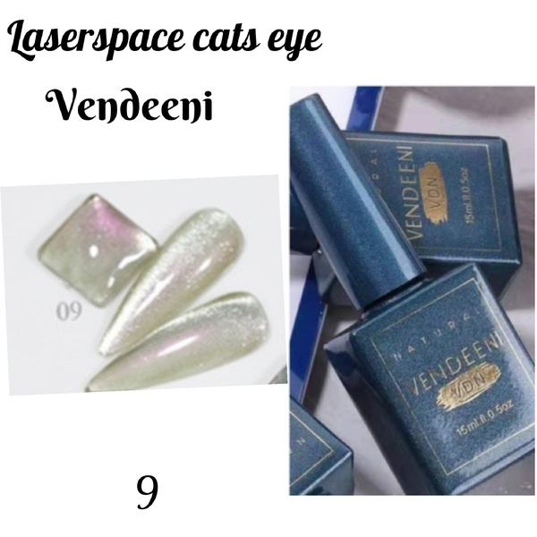 15 ml vendeeni laserspace cats eye gel nail polish no 9 picture