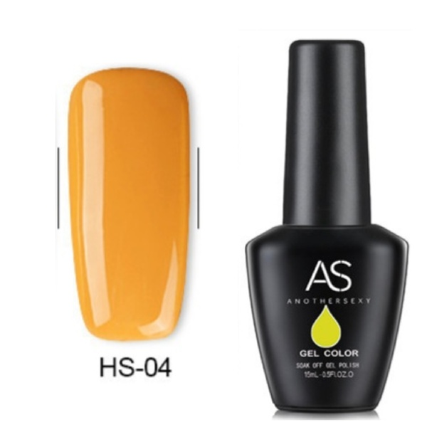 15 ml as uv led gel polish yellow series no 004 picture