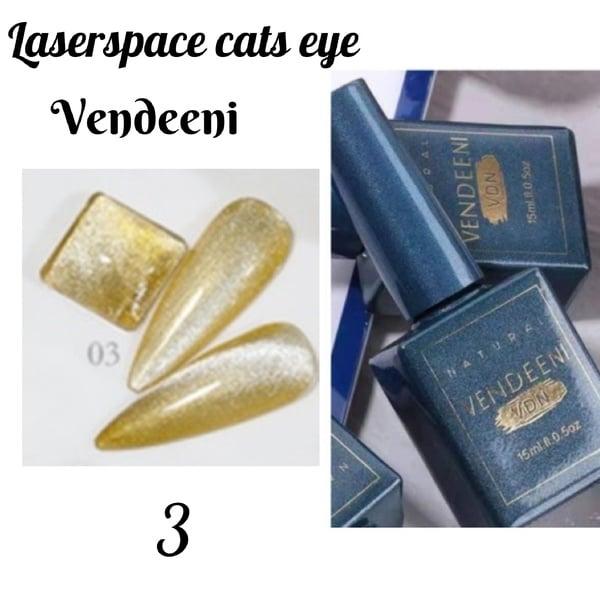 15 ml vendeeni laserspace cats eye gel nail polish no 3 picture