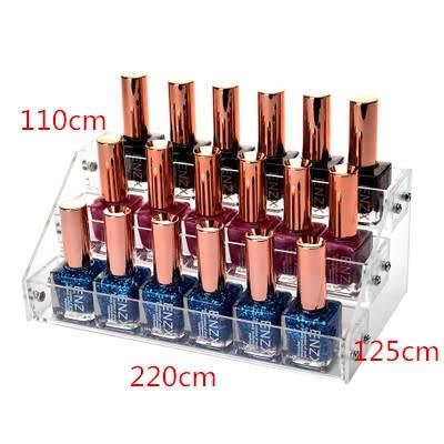 18 pcs nail polish stand picture