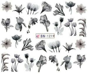 Water transfer nail sticker bn-1219 picture