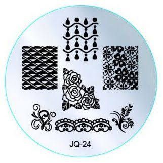 Round stamping plates jq24 picture