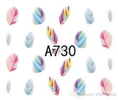 Water transfer nail sticker a730 picture