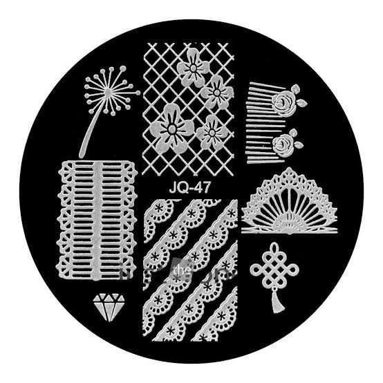 Round stamping plates jq47 picture