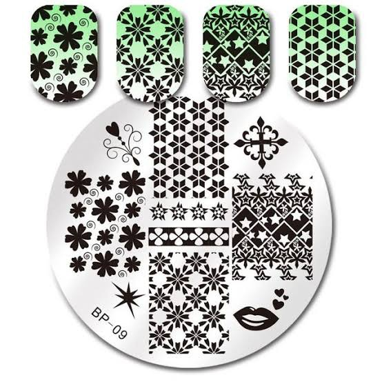 Stamping plate bp09 picture