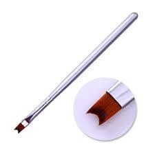 Smile line brush white handle picture