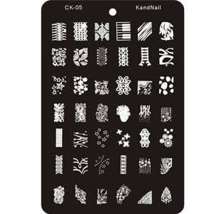 Image stamping plate - ck05 picture