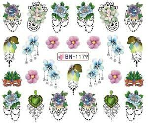 Water transfer nail sticker bn-1179 picture
