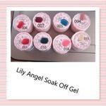 Lily angel soak off gel -004-dark nude picture