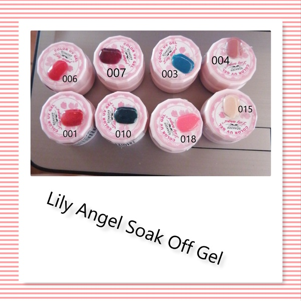 Lily angel soak off gel - 003 picture