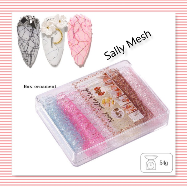 8 pc s nail art sally mesh picture