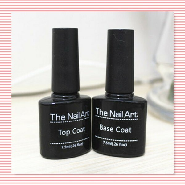 7.5 ml uv base and uv top coat each picture