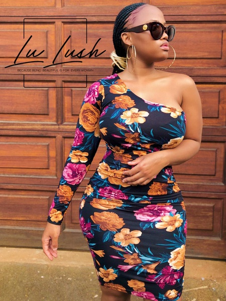 Lu lush colourful dress picture