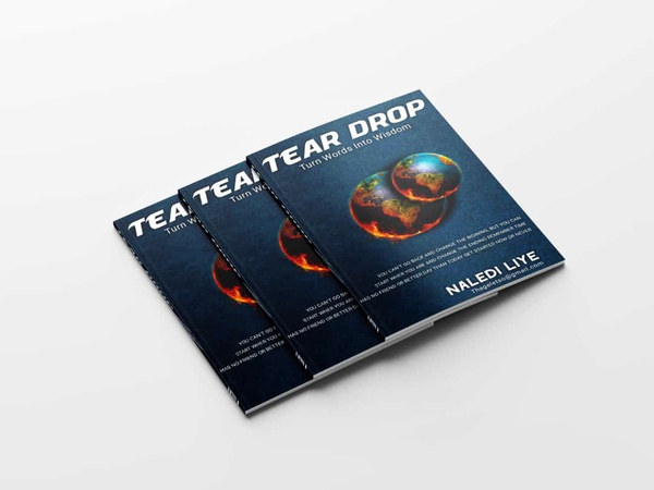 Tear drop picture