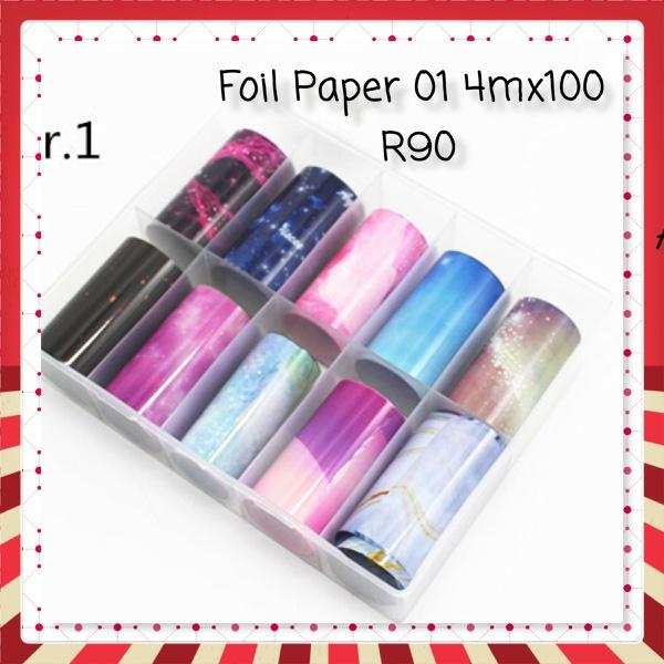 Foil paper 4mx100 - 01 picture