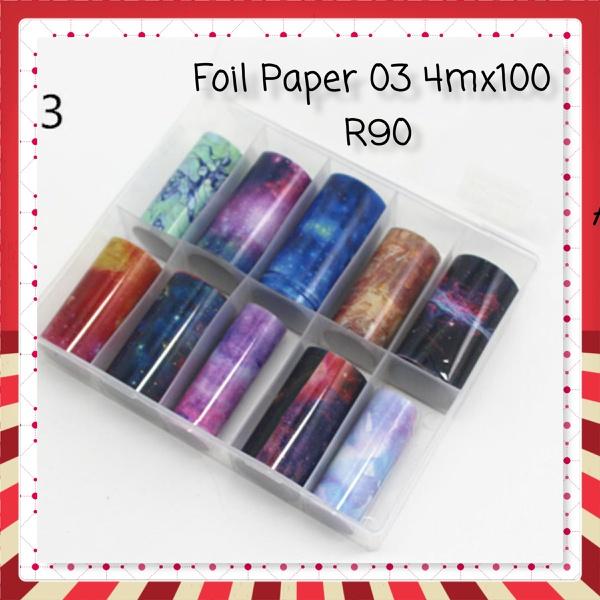 Foil paper 4mx100 - 03 picture