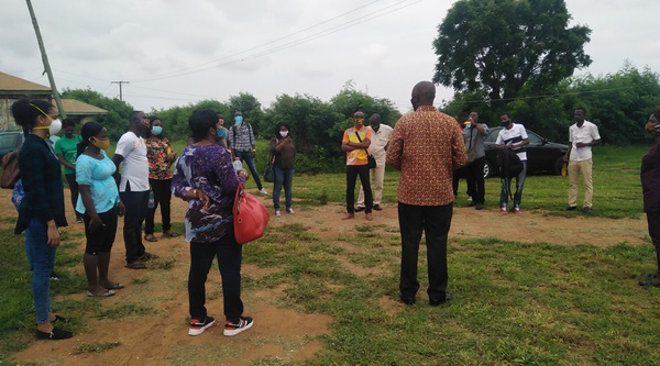 Field trip to nungua farms on 8th july, 2020 picture