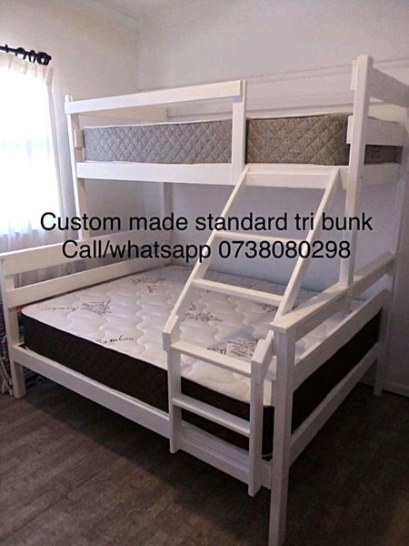 Standard tri bunk beds picture