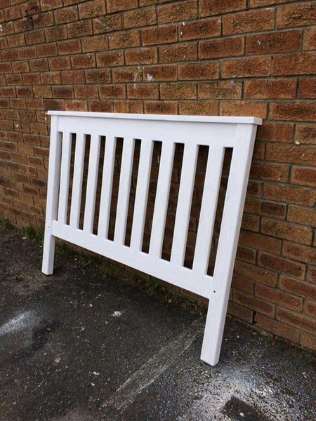 Christine(slatted)pine headboards picture