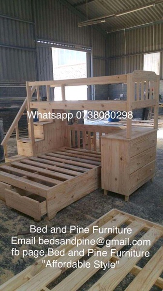 We make new pine household furniture at very good prices picture