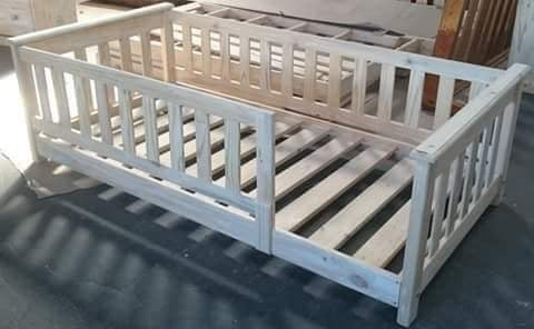 Pine house beds in various designs picture