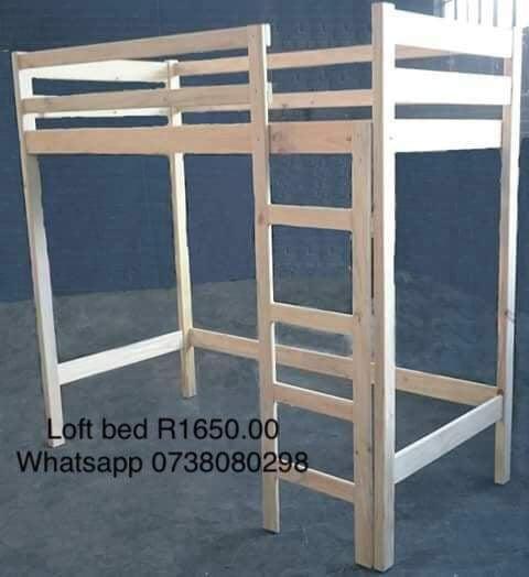 Standard loft bunk beds picture