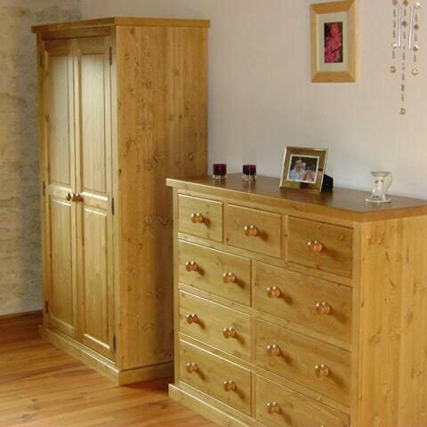 Pine cupboards/wardrobes picture