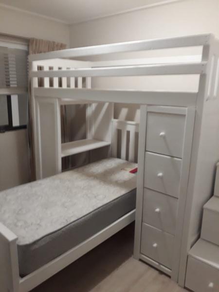 L-shape bunk beds picture