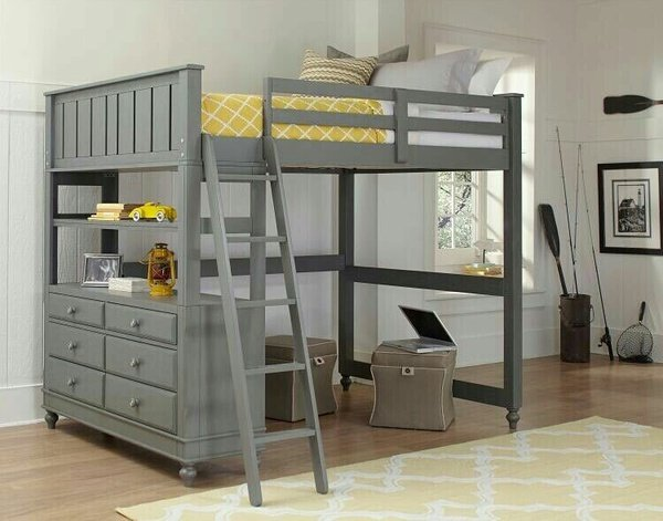 Pine loft bunks for you picture